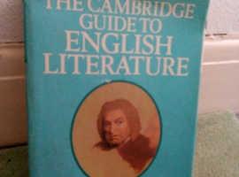 The Cambridge Guide to English Literature.