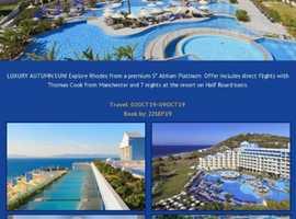 Atrium Platinum Luxury Resort Hotel & Spa - Rhodes, Greece