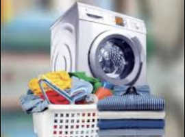 Wash dry and fold your clothing free pick up and deivery