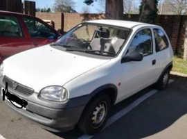 Vauxhall Corsa, 2000 (W) White Hatchback, Manual Petrol, 55,324 miles