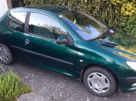 Peugeot 206, 2003 (03) Green Hatchback, Manual Petrol, 92,555 miles