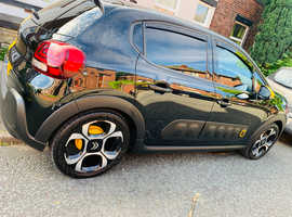 Citroen C3, 2019 (69) Black Hatchback, Manual Petrol, 4,500 miles