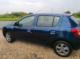 Dacia Sandero, 2015 (15) Blue Hatchback, Manual Petrol, 27,063 miles