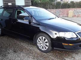 Volkswagen Passat, 1.6 Bluemotion Diesel, 2010 (10) Black Estate