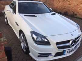 VASTLY REDUCED FOR QUICK SALE Mercedes Slk, 2011 (61) White Convertible, Automatic Petrol, 67,000 miles