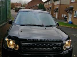 Land Rover Freelander, 2012 (61) Black Estate, Manual Diesel, 78,000 miles