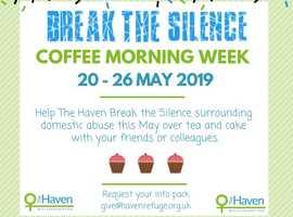 Break The Silence Coffee Morning