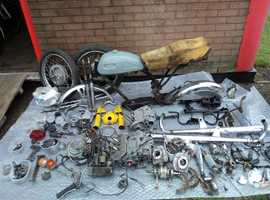 Yamaha CS2 180cc 1969 Resoration project