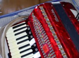 Baile super champion 120 bass piano keyed accordion