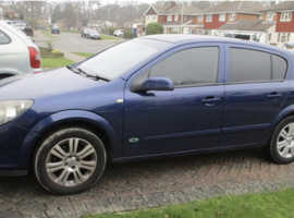 Vauxhall Astra, 2006 (06) Blue Hatchback, Manual Petrol, 136,000 miles