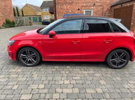 Audi A1, 2013 (13) Red Hatchback, Semi auto Petrol, 45,640 miles