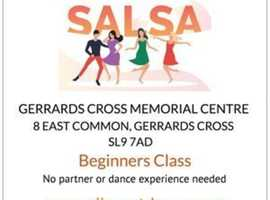 SALSA DANCE BEGINNERS CLASS IN GERRARDS CROSS, BUCKS