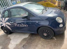 Fiat 500, 2009 (09) Silver Hatchback, Manual Petrol, 113,000 miles