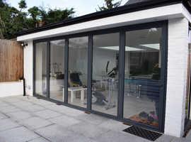 Aluminium bifold doors, composite doors, upvc windows