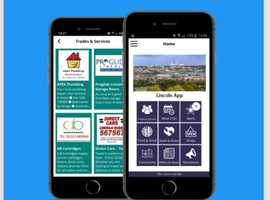 The my Locality Lincoln app