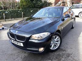 BMW 5 Series, 2011 (11) Black Saloon, Automatic Diesel, 160,000 miles
