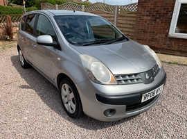 Nissan Note, 2006 (06) Silver MPV, Manual Petrol, 84,000 miles