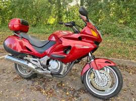 Honda deauville 650cc 2001 plate