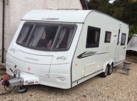 Beautiful 6 berth coachman laser