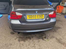 BMW 3 Series, 2005 (55) Grey Saloon, Manual Diesel, 159,267 miles