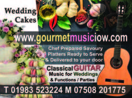 Gourmet Music IOW - Small event Catering & Music Isle of Wight