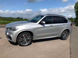 BMW X5, 2015 (15) Silver Estate, Automatic Diesel, 45,000 miles