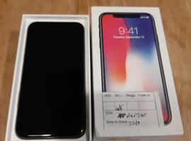 Iphone X. 64gb unlocked!