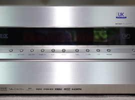 ONKYO TX-SR876 Home Cinema receiver/amp  200w perchannel  7.1 speakers  SILVER