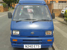 hijet 2bth devon poptop campervan long mot £4595 ono