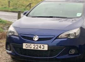 Vauxhall Astra, 2014 (64) Blue Hatchback, Manual Diesel, 51,500 miles
