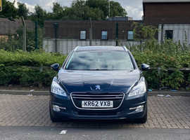 Peugeot 508, 2013 (62) blue estate, Semi auto Diesel, 121,200 miles