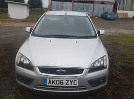 Ford Focus, 2006 (06) Silver Hatchback, Manual Petrol, 146,000 miles