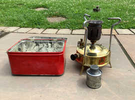 Vintage Primus solid brass paraffin stove