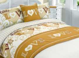 With Love Bed In A Bag Duvet Cover Set