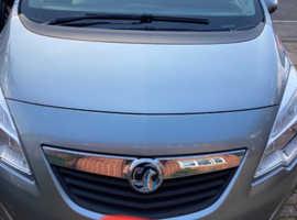 Vauxhall Meriva, 2012 (62) Silver MPV, Manual Petrol, 61,000 miles
