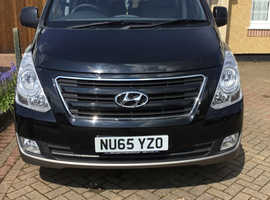 Hyundai i800, 2015 (65) Black MPV, Manual Diesel, 46,000 miles