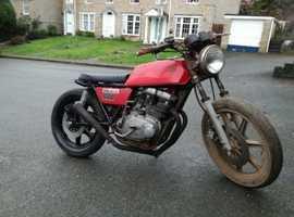 1977 Yamaha XS500 PROJECT