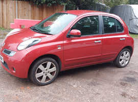 Nissan Micra, 2010 (10) Red Hatchback, Manual Petrol, 154,285 miles