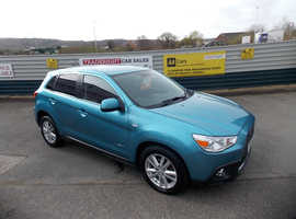 Mitsubishi Asx, 2013 (13) Blue Hatchback, Manual Diesel, 67,488 miles
