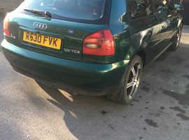 Audi A3, 1997 (R) Green Hatchback, Manual Diesel, 175,241 miles
