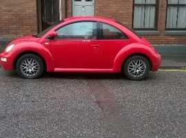 Volkswagen Beetle, 2001 (51) Red Hatchback, Manual Petrol, 128,000 miles