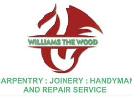 Property maintenance.  Handyman.  Carpentry/Joinery.  If its wood then I could renew, replace or mend!