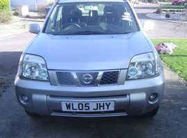 Nissan X-TRAIL, 2005 (05) silver estate, Automatic Petrol, 34,000 miles