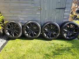 Peugeot RCZ Alloys with winter snow tyres