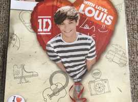 Happy Birthday childrens boys girls helium balloon foil present gift delivery One 1 direction Louis