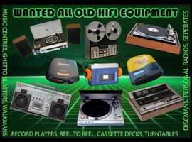 ALL OLD HIFI EQUIPMENT