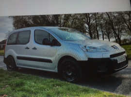 Peugeot belingo wheelchair access car