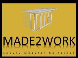 MADE2WORK - Bespoke Luxury Modular Buildings