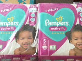 Pamper nappies