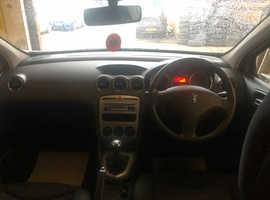 Peugeot 308, 2009 (09) Silver Hatchback, Manual Petrol, 69,390 miles